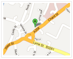 Map for Body Balance nutritionist in South West UK